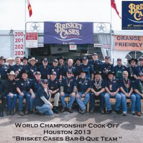 Brisket Case Cook-Off Team Members