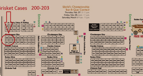 HLSR 2014 Rodeo Map